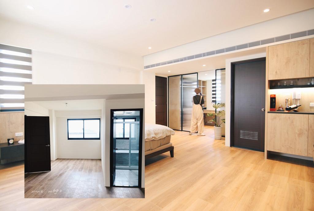 間接照明  反射照明 臥室設計 衣櫃設計 衣櫃 衣服收納