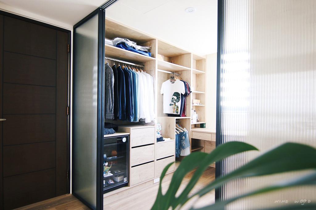 開放式更衣室  開放式衣櫃 衣櫃設計 開放衣櫃深度