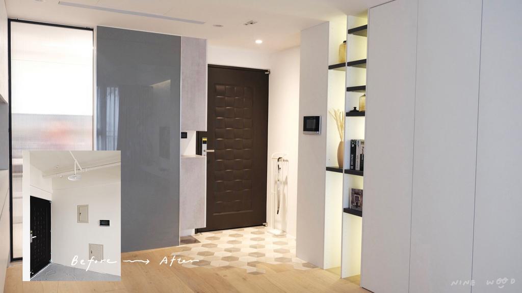 玄關 施工前 玄關設計 敲牆 打牆設計 敲牆壁 敲牆工具 敲牆設計
