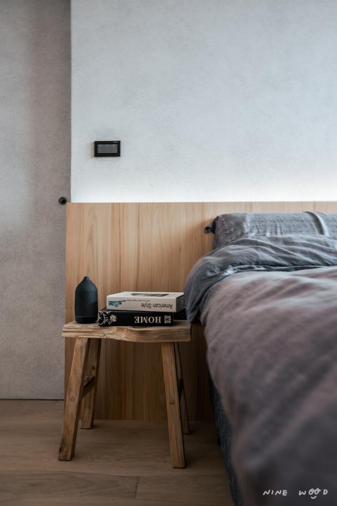主臥 床頭封板 床頭背牆 床頭 床頭板 床頭片