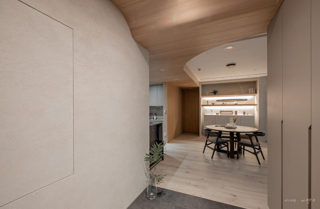變電箱設計 隱藏變電箱 天花板設計 曲線天花板 造型天花板