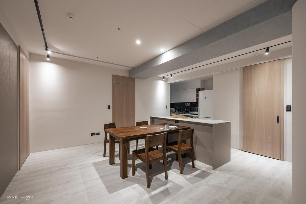 廚房設計 客變 茶水櫃設計 茶水櫃 清水模 茶水櫃高度 茶水櫃位置