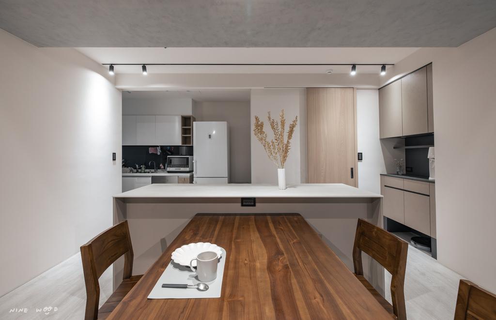 中島吧台  中島廚房 廚房設計 吧檯設計