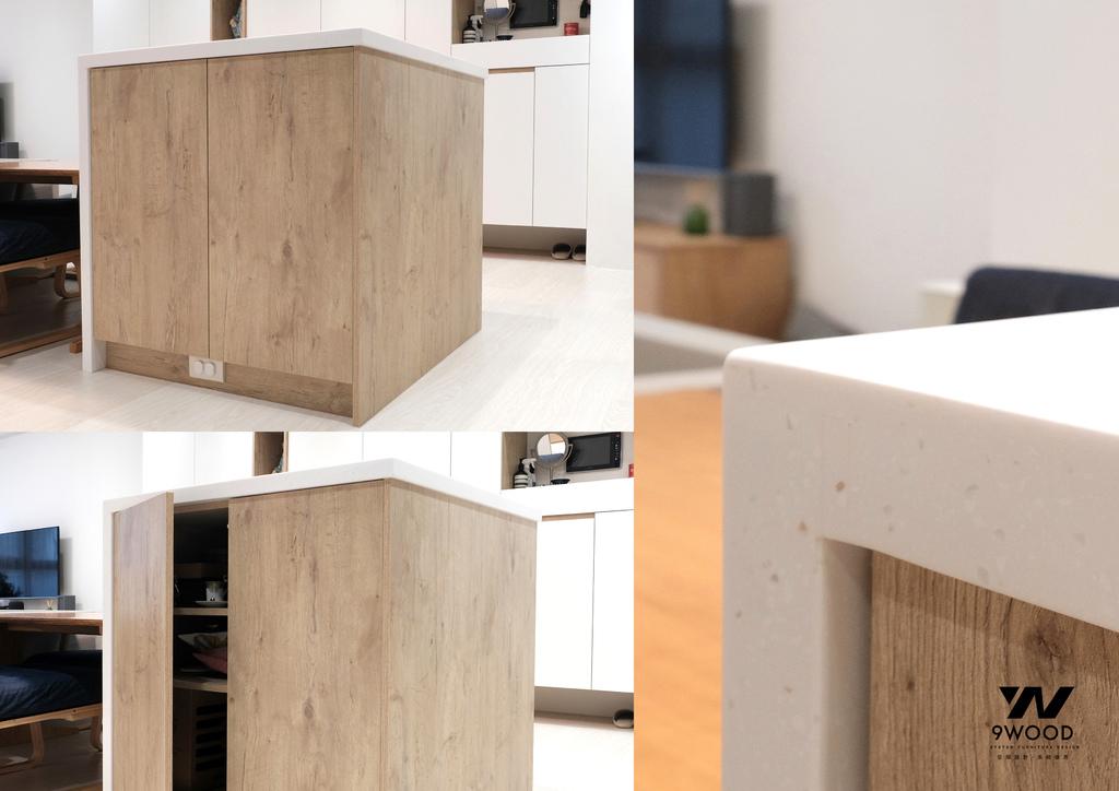 中島設計 中島廚房 中島吧台 吧檯設計 吧檯裝修