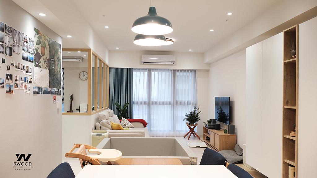 客廳設計 檯面設計 義大利進口磚 進口材料 進口素材 日式裝修