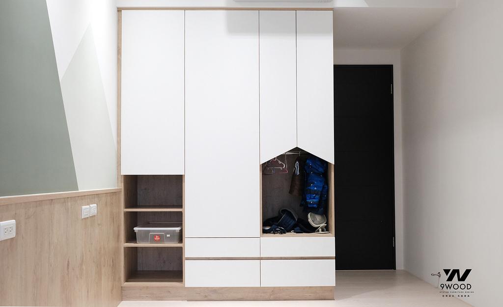 特殊衣櫃 衣櫃設計 系統衣櫃