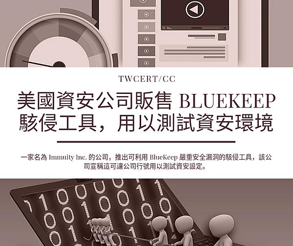 0731_美國資安公司販售 BlueKeep 駭侵工具,用以測試資安環境.png