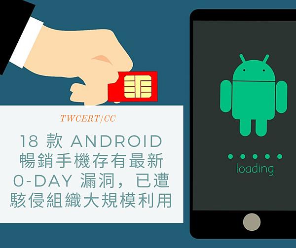 18 款 Android 暢銷手機存有最新 0-day 漏洞,已遭駭侵組織大規模利用.png