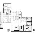 權釋設計-敦化吳公館-14樓平面圖