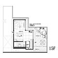 權釋設計-敦化吳公館-15樓平面圖