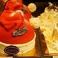可愛的聖誕帽蛋糕,要價59歐