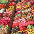 Boqueria market賣的糖果