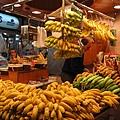黃黃的香蕉一大堆