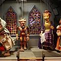 有些puppets長的很可愛,但是有些長的很可怕
