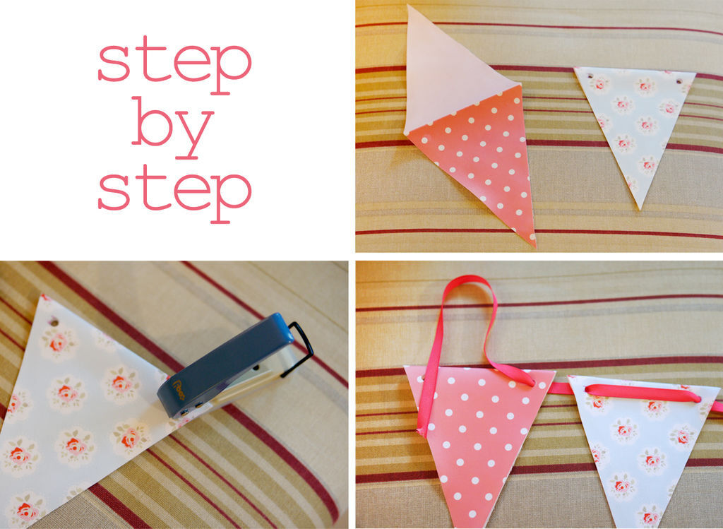 bunting step by step