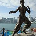 很有架勢的Bruce Lee