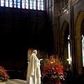 聖誕節那天聖母院的彌撒