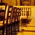 Madeleine教堂裡的椅子