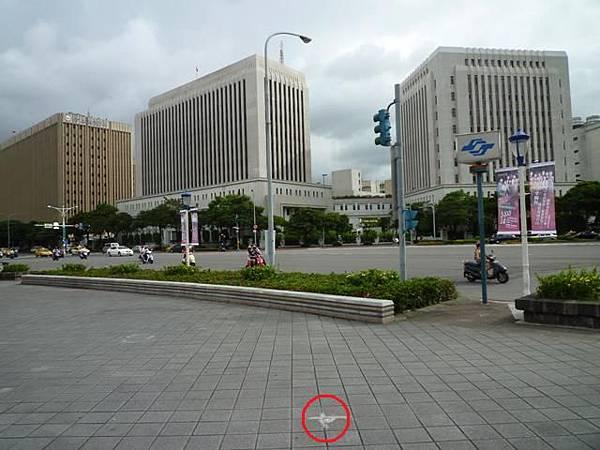 信安街、和平東路口基石.北市四等衛星控制點A011 036