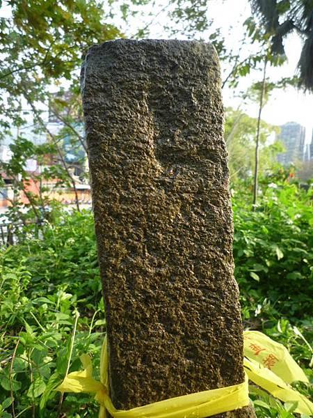 木柵國小台北州第九号基石.繞階玉樹 026