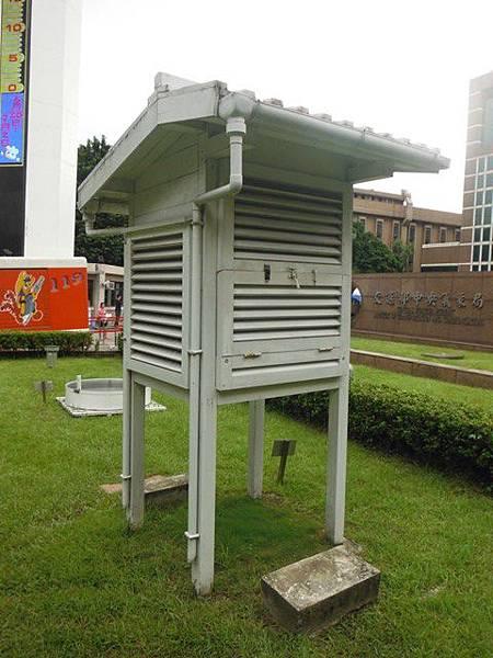 中央氣象局尋台北三角點 011