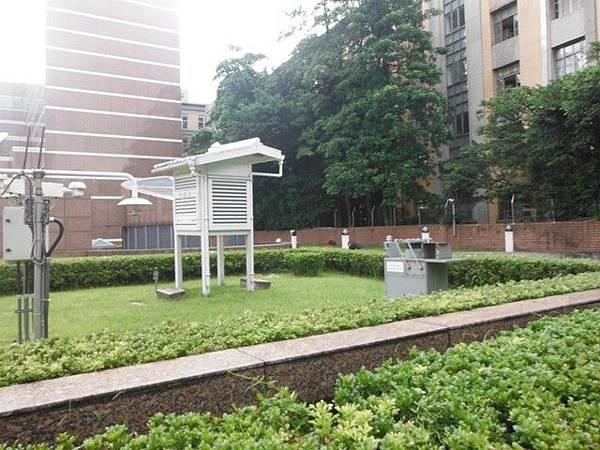 中央氣象局尋台北三角點 016