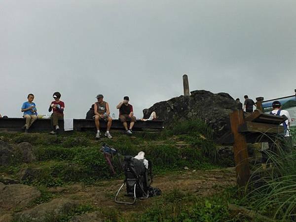 七星山.恐龍接吻石.凱達格蘭山.七星山南峰 035