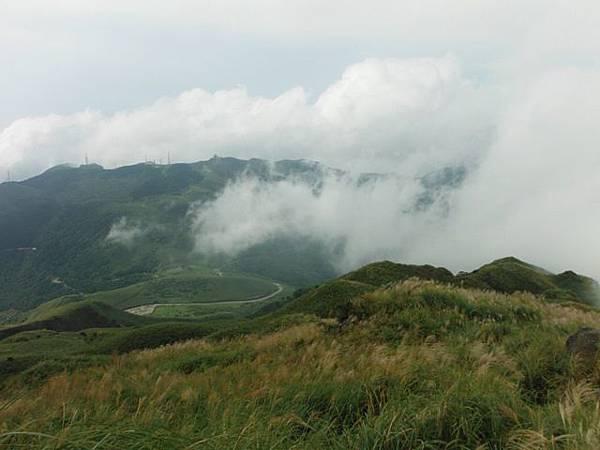 七星山.恐龍接吻石.凱達格蘭山.七星山南峰 036
