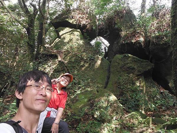 七星山.恐龍接吻石.凱達格蘭山.七星山南峰 061