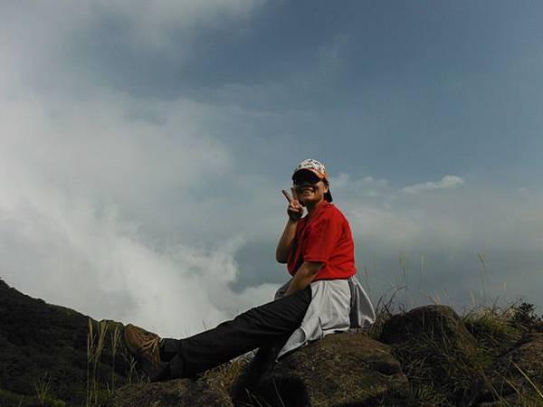 七星山.恐龍接吻石.凱達格蘭山.七星山南峰 073