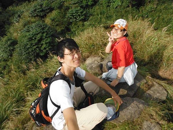 七星山.恐龍接吻石.凱達格蘭山.七星山南峰 078