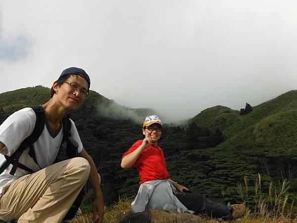 七星山.恐龍接吻石.凱達格蘭山.七星山南峰 082