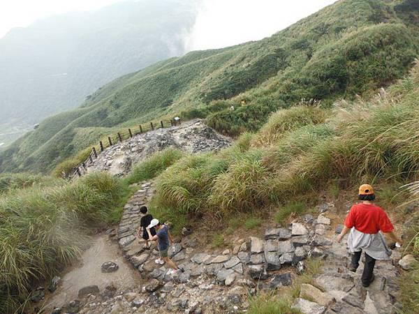 七星山.恐龍接吻石.凱達格蘭山.七星山南峰 111