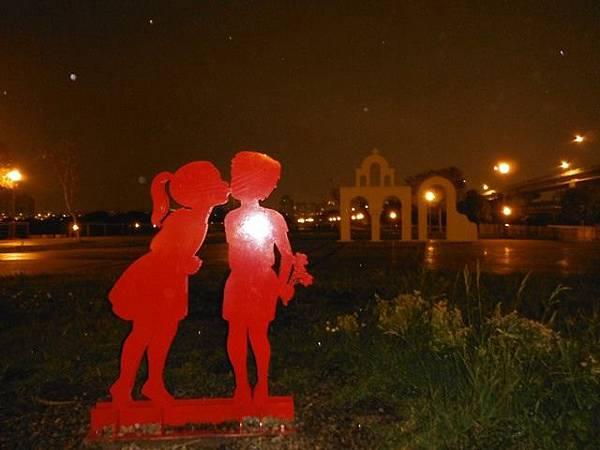 夜遊古亭河濱公園 035