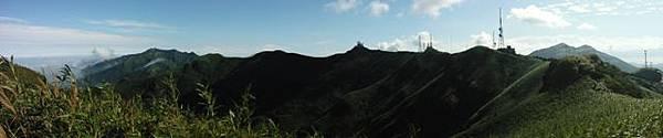 小觀音山西峰火山口.大屯自然公園.百啦卡山.大屯山夕陽、雲海、秋芒 014.JPG