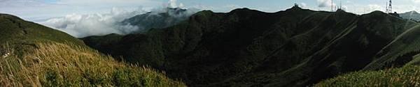 小觀音山西峰火山口.大屯自然公園.百啦卡山.大屯山夕陽、雲海、秋芒 023.JPG