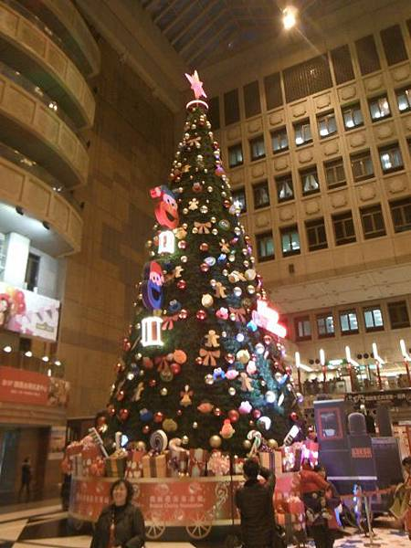 台北火車站大廳聖誕樹.京站聖誕樹 009.JPG