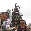 西門捷運站聖誕樹 018.JPG