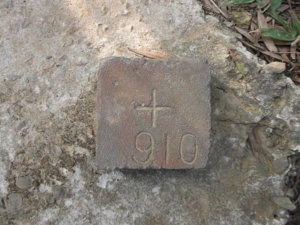 羊年除夕.中埔山.芳蘭山北區水建會隧三角13號基石 022