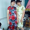 立華&美女思穿旗袍