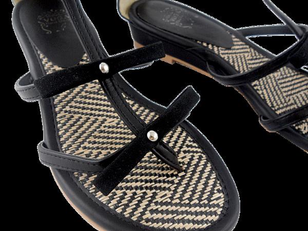 編織蝴蝶結涼鞋005