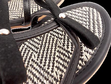 編織蝴蝶結涼鞋003