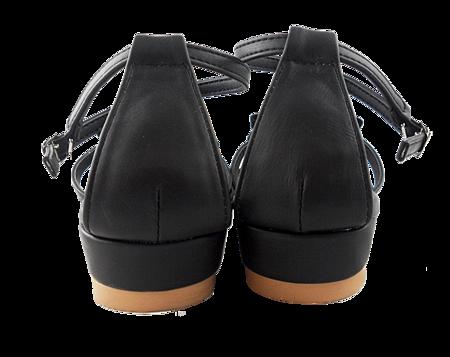 編織蝴蝶結涼鞋004