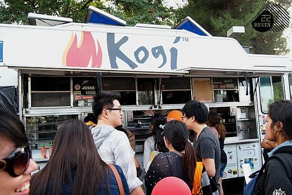 沒吃到Seoul Sausage 只好改吃Kogi....口味也很讚!