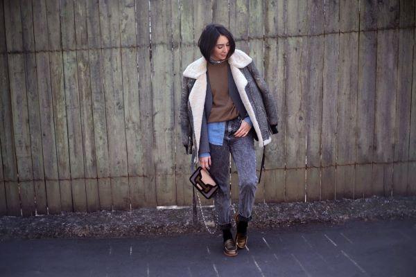 時髦趨勢 ※ Brrrr...冷颼颼的天氣~我要一件帥氣皮革毛呢!!!!