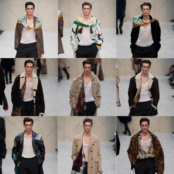 thetallnshort-burberry-men-london-fashion-week-men-2014-fall-winter-trench-teddy-shearling-drape-scarf