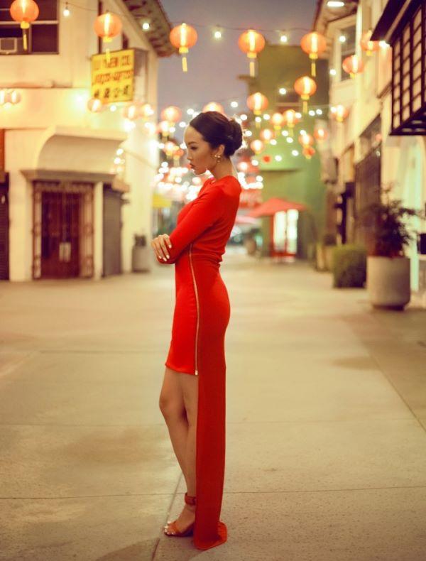 時髦趨勢 ※ 2014 農曆新年少不了的「紅封包」穿搭!