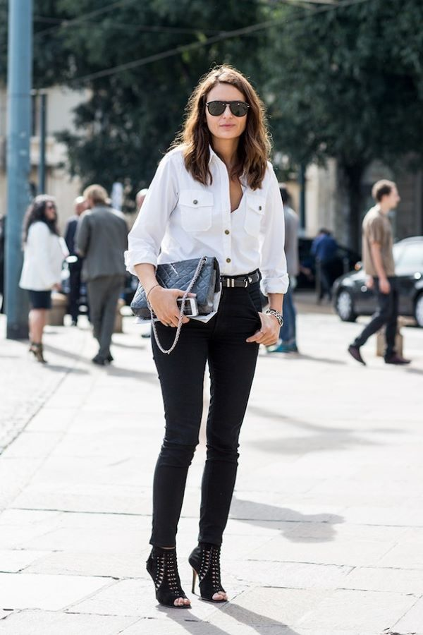 EFFORTLESS BLACK AND WHITE STREET STYLE 1