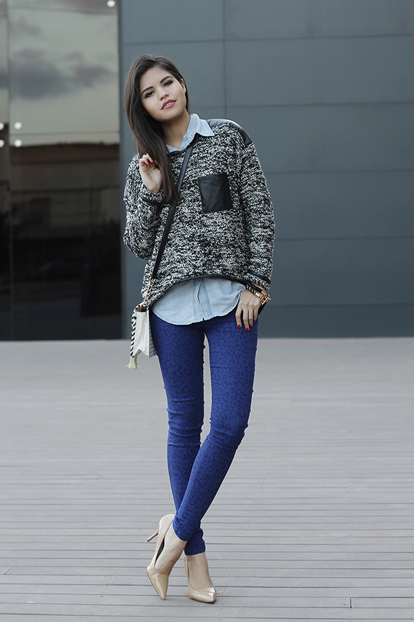 06-leopard-jeans-pants-leather-sweater-denim-shirt-nude-pumps-steve-madden-sheinside