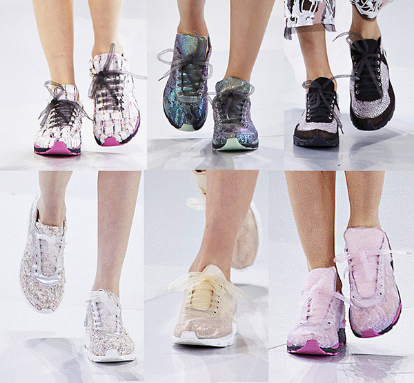 chanel 2014 couture sneakers IIHIH
